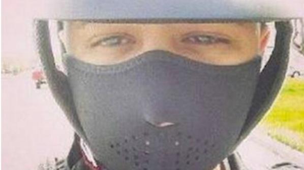 imagem final reggaeton músico de Jadiel de si mesmo não deu um indício de que ele vai morrer em um acidente de moto momentos depois.