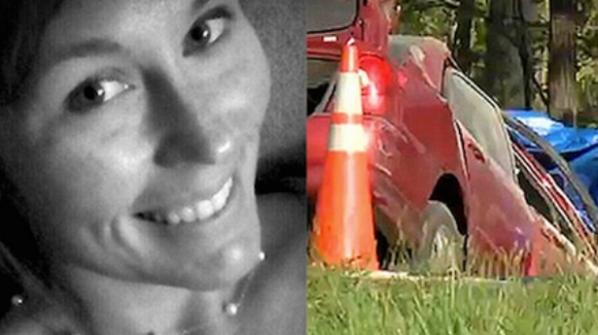 """Courtney Sanford foi feliz cantando a canção Pharrel Williams ' """"feliz"""" quando ela tirou essa foto e entrou em um acidente de carro fatal."""
