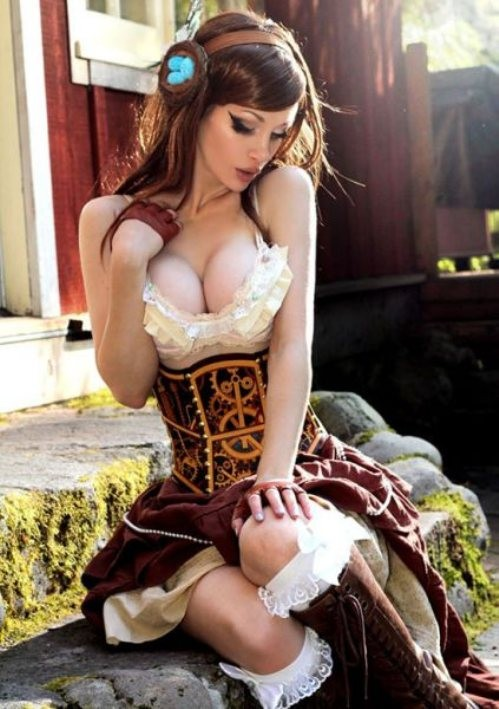 Steampunk girl Kato