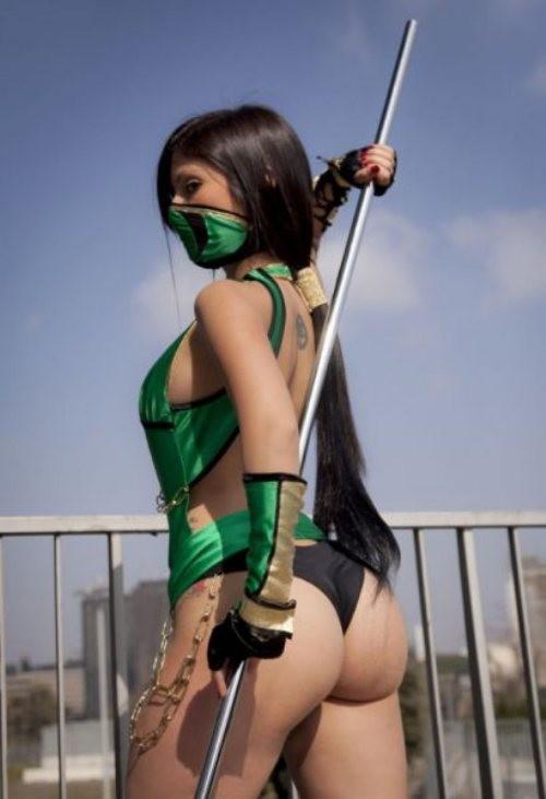 Sexy Mortal Combat Reptile