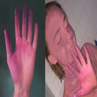 These Women Turned Themselves Purple With Lush Products - Because They Didn't Use Them Correctly