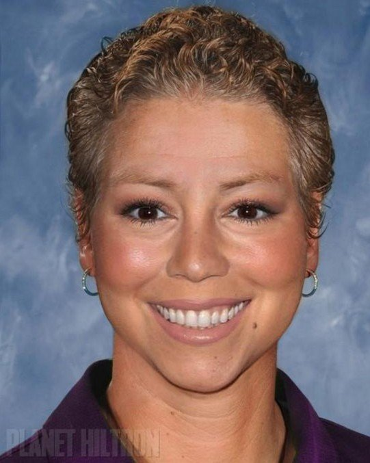 Mariah Carey as a school principal.