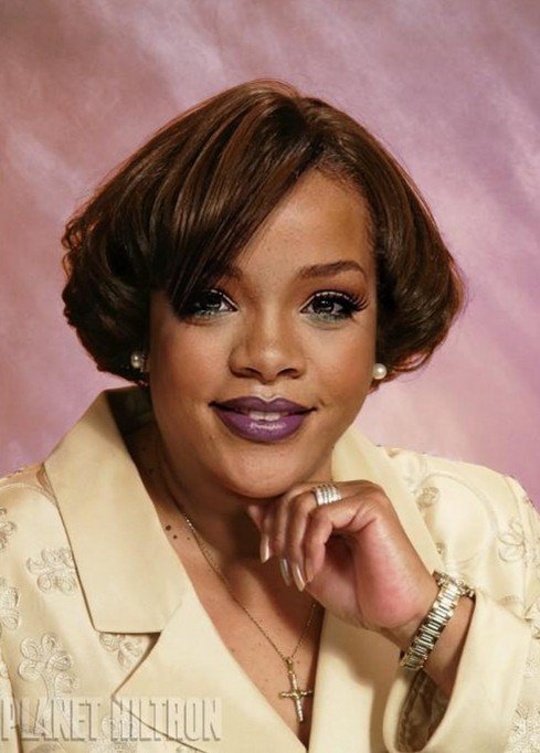 Rihanna as a human rights lawyer.