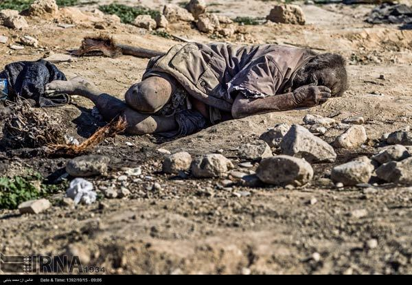 For more than 60 years he has lived a filthy life in the outdoor wilderness that is in Dezhgah, Iran.