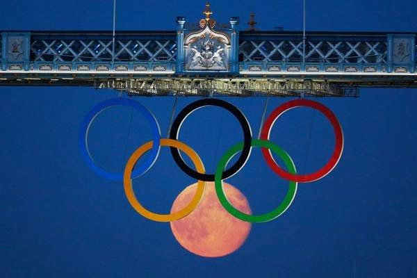 A última vez que verifiquei, lua não fazia parte dos anéis olímpicos.