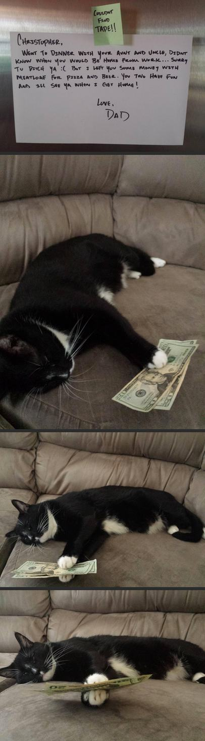 Richer by a dollar $$$