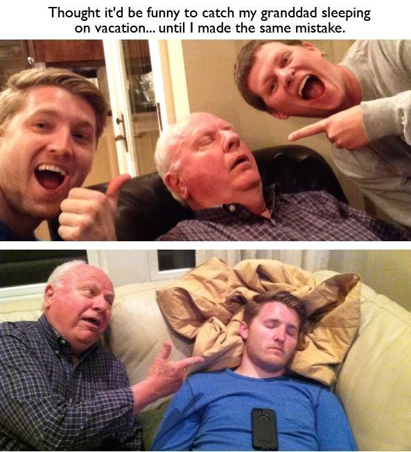 This isn't a Granddad joke, believe me.