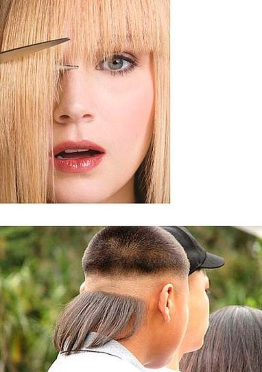 how to cut your hair youself