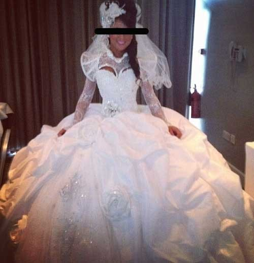 Hideous Wedding Gowns: Here Comes The Bride... With The Most Awful