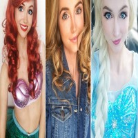With $14,000 Spent On Costumes, She Transformed Into 17 Different Disney Princesses