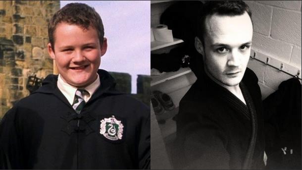 Gregory Goyle (Joshua Herdman) mudou muito, passando de um menino a um homem