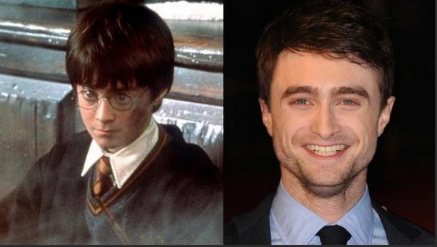 Daniel Radcliffe, que interpretou o papel de Harry Potter, agora é um homem bonito, com um sorriso vencedor
