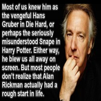 The Story of Alan Rickman You Never Knew