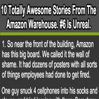 Check Out These Shocking Stories From The Amazon Warehouse