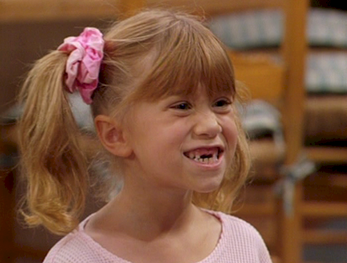 Michelle Tanner because the most popular character on Full House and the show's ratings soared.